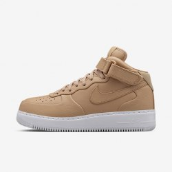 Air Force 1 Mid Vachetta Tan/White Women Nike