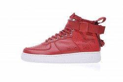 SF Air Force 1 Utility Mid Red/White Women Nike