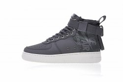 SF Air Force 1 Utility Mid Grey/White Women Nike