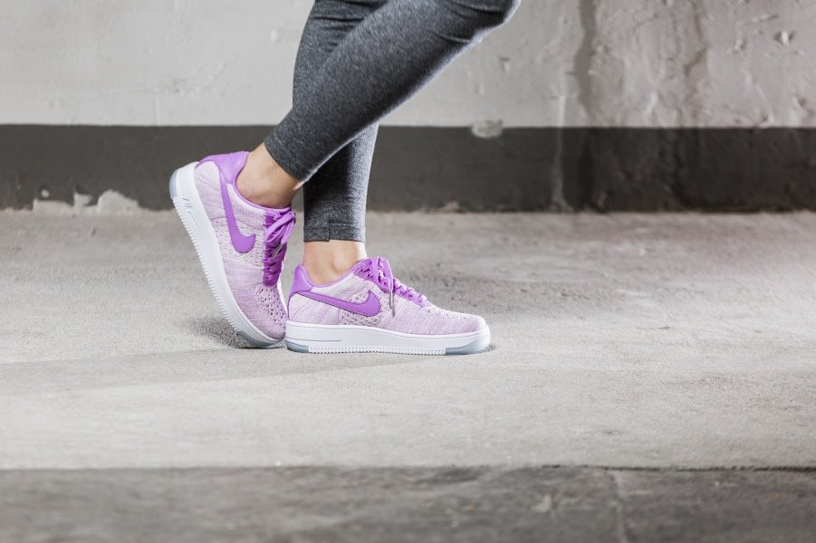 a084a6f0 ᐉ Купить кроссовки Air Force 1 Ultra Flyknit Low Royal Orchid Nike ...