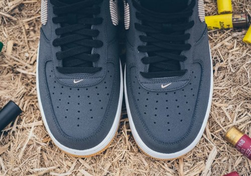 """Air Force 1 Anthracite Bamboo """"Black/Gum/Light/Brown"""" Nike"""