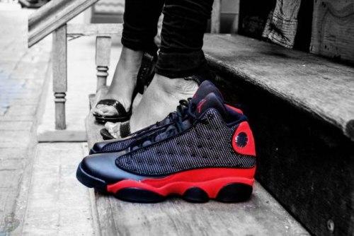 "Air Jordan 13 Retro bg (gs) ""bred 2017"" Nike"