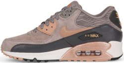 Air Max 90 leather brown-gold Women Nike