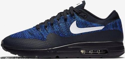 Air Max 87 Ultra Flyknit Blue/Black Nike