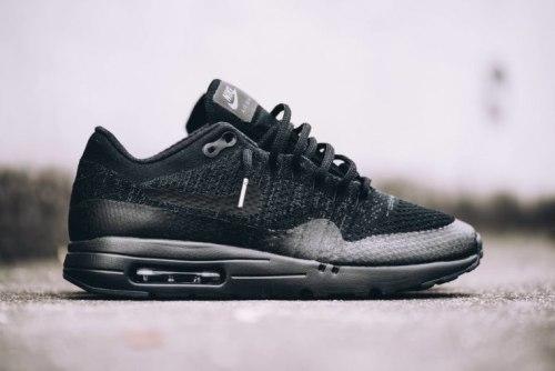 Air Max 1 Ultra Flyknit Black/Grey Nike