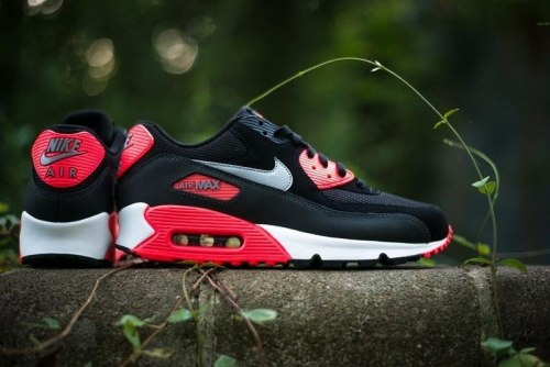 Air Max 90 Black/Red Nike