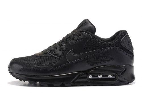 Air Max 90 Premium Triple Black Nike