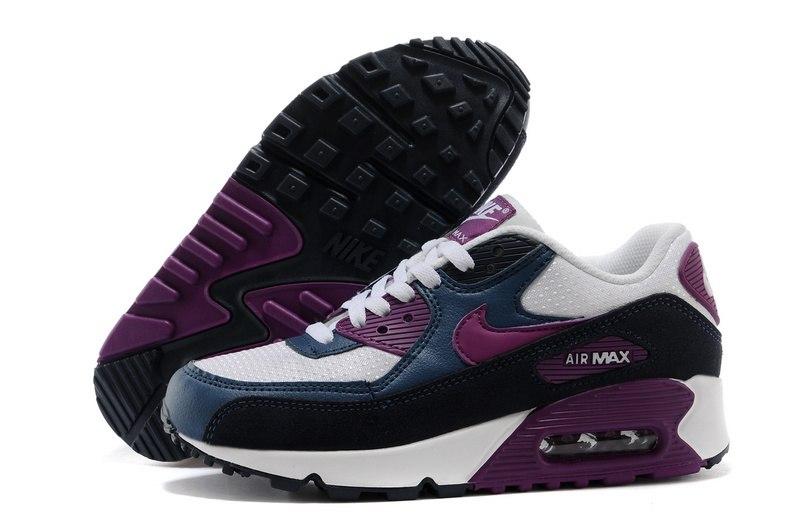 943e67780a87 ᐉ Купить кроссовки Air Max 90 Noir Violet Nike – с доставкой в Киев ...
