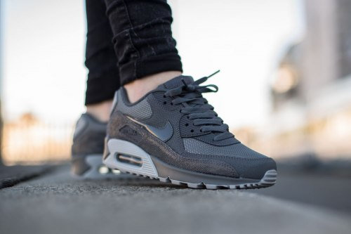Air Max 90 Premium Dark Grey/Wolf Grey Nike