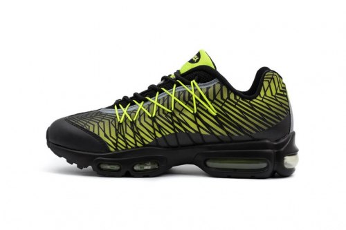 Air Max 95 Ultra Jacquard Black/Lime Green Nike