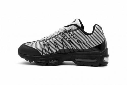 Air Max 95 Ultra Jacquard Black/White Nike