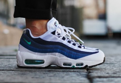 Air Max 95 OG White/Blue Nike