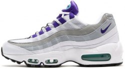 "Air Max 95 ""White/Purple/Court"" Men Nike"