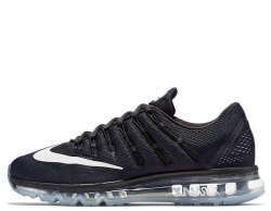Air Max 2016 Black/White-Reflect Silver Nike