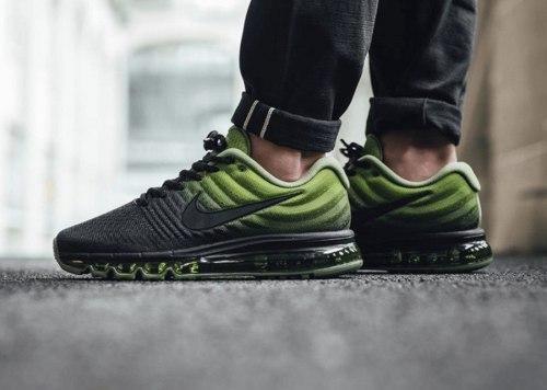 Air Max 2017 Black/Palm Green Nike