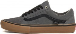 Кеды Old Skool Pro Grey/Black/Gum V a n s