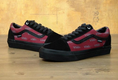 Кеды Old Skool Pro Port Royale Black/Red Vans