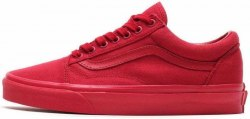 "Old Skool ""Crimson"" Women Vans"