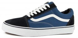 Old Skool Blue/Black Women Vans