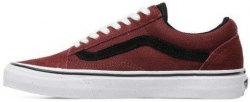Old Skool Bordo Black Low White Women Vans