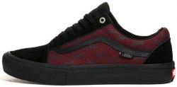 Old Skool Pro Port Royale Black/Red Women Vans