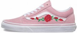 Old Skool Roses Pink Vans