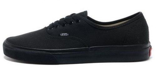 Authentic Black/Dlack Women Vans