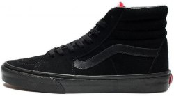 Old Skool High Top All Black Women V a n s