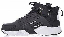 Huarache X Acronym City MID Leather Black/White Nike