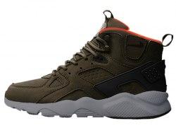 Air Huarache High Top Brown Nike