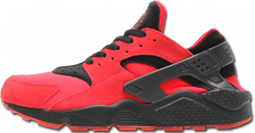 Air Huarache UK Red Black Nike