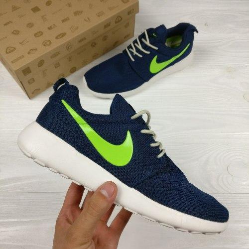 Roshe Run Navy/Yellow Nike