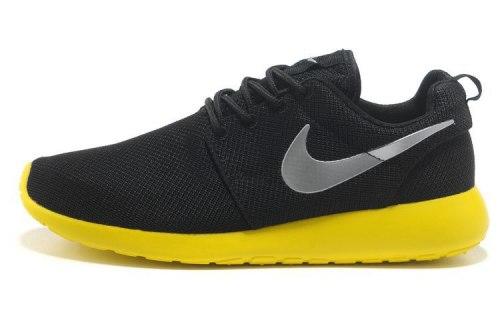 Roshe Run Yellow/black Nike
