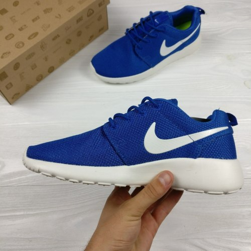 Roshe Run Blue White Nike