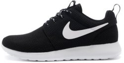 Roshe Run Black/White Women Nike