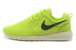 Roshe Run Green White Black Women Nike
