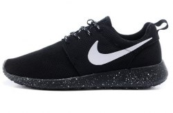 Roshe Run Oreo Black Women Nike