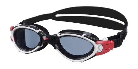 Очки Arena Nimesis X-Fit модель 54 (цвет дымчатый-красный-черный)