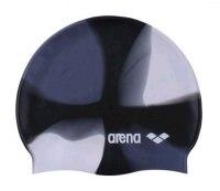 Шапочка Arena Pop Art Cap модель 55 (цвет серый-черный-белый)