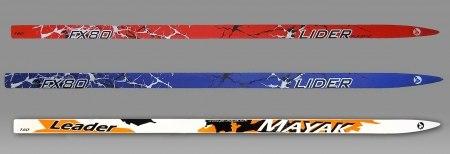 """Лыжи подростковые """"Лидер"""" 160 см"""