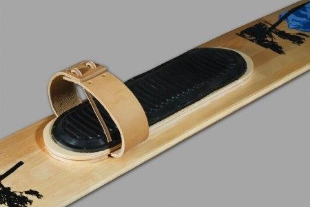 Комплект креплений для промысловых лыж (кожа, амортизатор, носковый ремень)