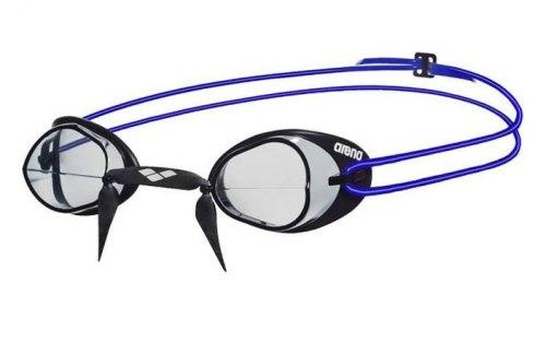 Очки Arena Swedix модель 75 (цвет черный с голубым)