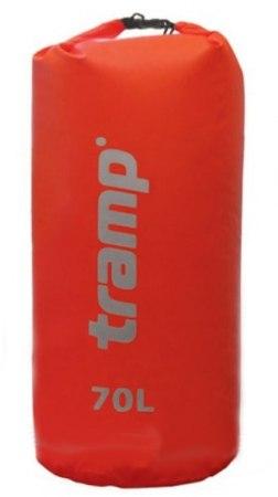Гермомешок нейлон Tramp, арт. TRA-104 70 л красный