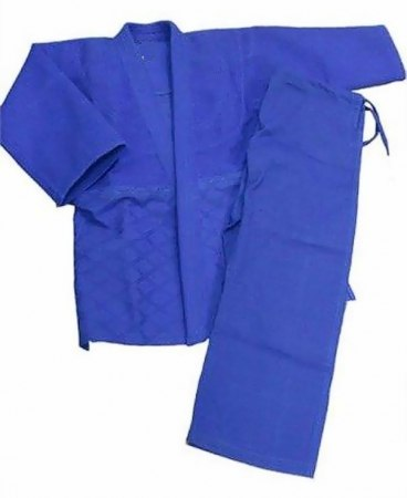 Кимоно для дзюдо, синее