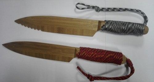 Нож из бамбука