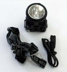 Налобный аккумуляторный фонарь ULTRAFLASH 5366
