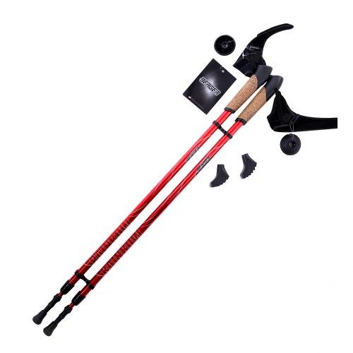 Палки для скандинавской ходьбы Berger Rainbow 86-140 см