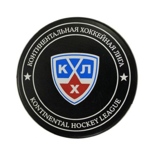 Шайба хоккейная в блистере KHL Rubena