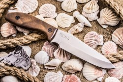 Нож Flint Kizlyar Supreme AUS-8 Satin