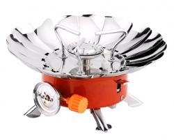 Газовая плита портативная с ветрозащитой GR-201